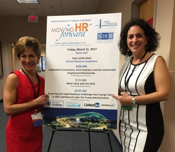 Giselle and Margaret - SHRM Annual Conference Picture